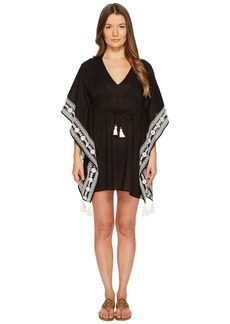 Tory Burch Ravena Beach Caftan Top Cover-Up