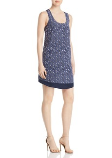 Tory Burch Sydney Floral Print Shift Dress