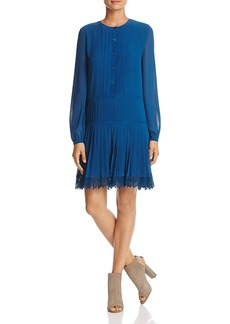 Tory Burch Sydney Pleated Shirt Dress