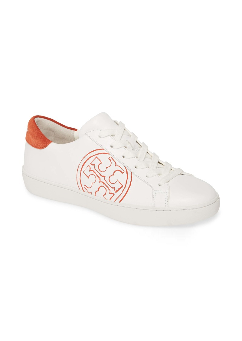 Tory Burch T-Logo Lace-Up Sneaker (Women)