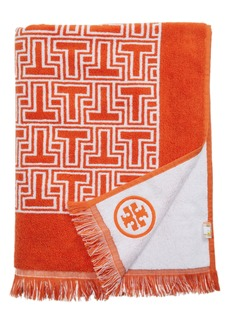 Tory Burch T-Tiles Beach Towel