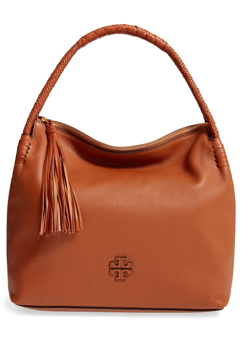8bce000bc476 Tory Burch Tory Burch Taylor Leather Hobo Bag