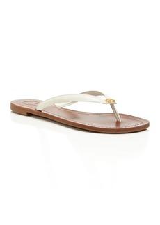 Tory Burch Terra Leather Flip-Flops