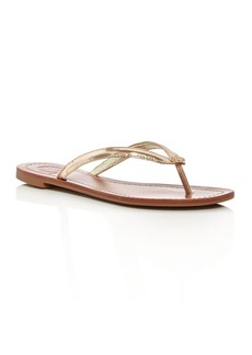 Tory Burch Terra Leather Flip-Flops
