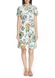 Tory Burch Tilly Floral Shirtdress