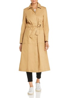 Tory Burch Trench-Style Drawstring Coat