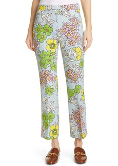 Tory Burch Twill Crepe Ankle Pants