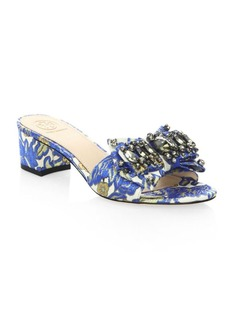 Tory Burch Valentina Embellished Sandals