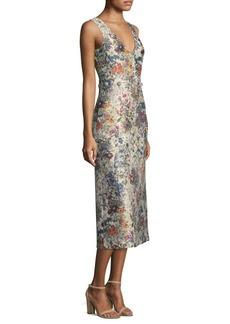 Tory Burch Vance Midi Dress