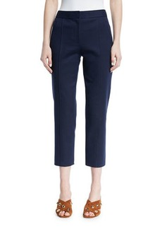 Tory Burch Vanner Slim Cropped Pants