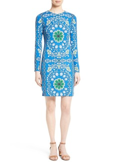 Tory Burch Walker Stretch Knit Sheath Dress
