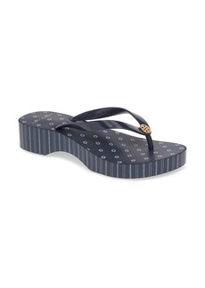 Tory Burch Wedge Flip Flop (Women)