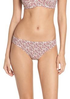 Tory Burch Wild Pansy Hipster Bikini Bottoms