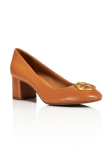 Tory Burch Women's Chelsea Block-Heel Pumps