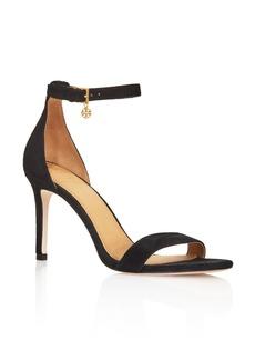 Tory Burch Women's Ellie Suede Ankle Strap High-Heel Sandals