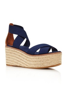 Tory Burch Women's Frieda Platform Espadrille Sandals