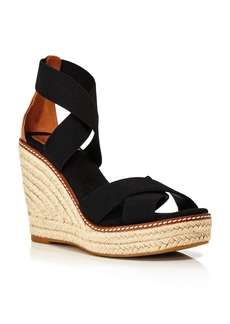 Tory Burch Women's Frieda Platform Wedge Espadrille Sandals