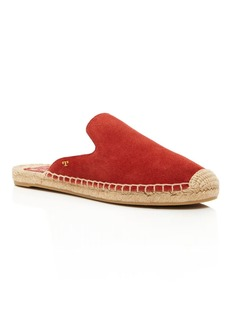 Tory Burch Women's Max Suede Espadrille Mules