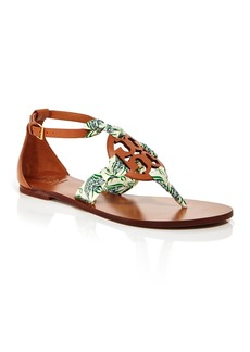 Tory Burch Women's Miller Scarf Thong Sandals