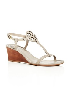 Tory Burch Women's Miller T-Strap Wedge Sandals