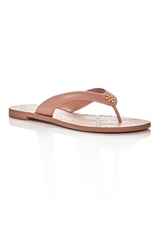 Tory Burch Women's Monroe Leather Thong Sandals