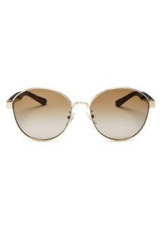 Tory Burch Women's Round Sunglasses, 56mm