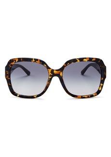 Tory Burch Women's Square Sunglasses, 57mm