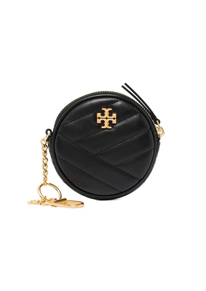 Tory Burch Kira chevron leather pouch