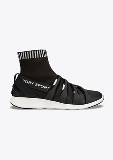 Tory Burch TORY SPORT BANNER SOCK SNEAKERS