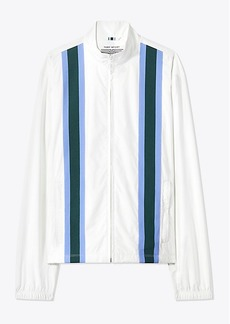 Tory Burch TWIN-STRIPE GOLF JACKET