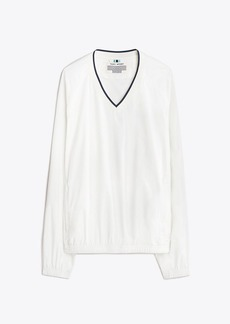 Tory Burch V-Neck Windshirt