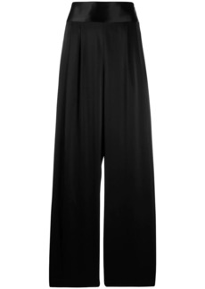 Tory Burch wide-leg satin trousers