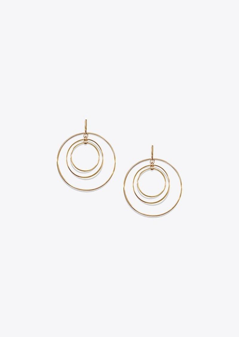 Tory Burch WIRE HOOP EARRING | Jewelry