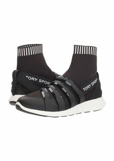 Tory Sport Banner Performance Sock Sneaker