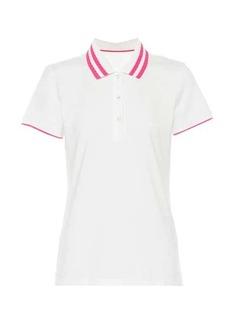 Tory Sport Cotton-blend polo shirt