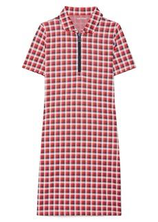 Tory Sport by Tory Burch Performance Check Jacquard Dress