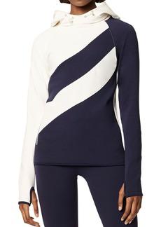 Tory Sport Color-Block Hooded Sweatshirt