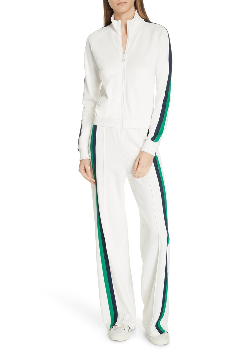 Tory Sport Double Stripe Track Jumpsuit