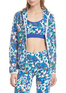 Tory Sport Floral Print Waterproof Packable Jacket