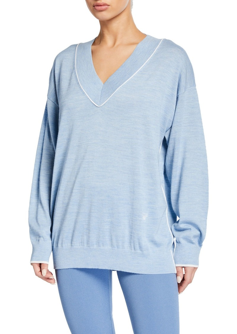 Tory Sport Performance V-Neck Sweater