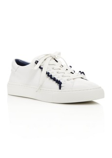 Tory Sport Ruffle Low Top Lace Up Sneakers