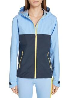 Tory Sport Water Resistant Double Hood Running Jacket