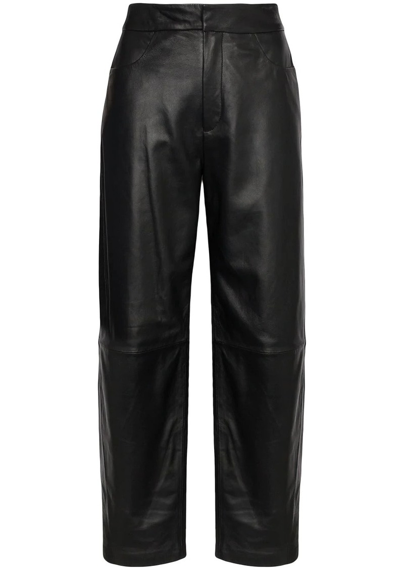 Totême Novara high-rise wide-leg trousers