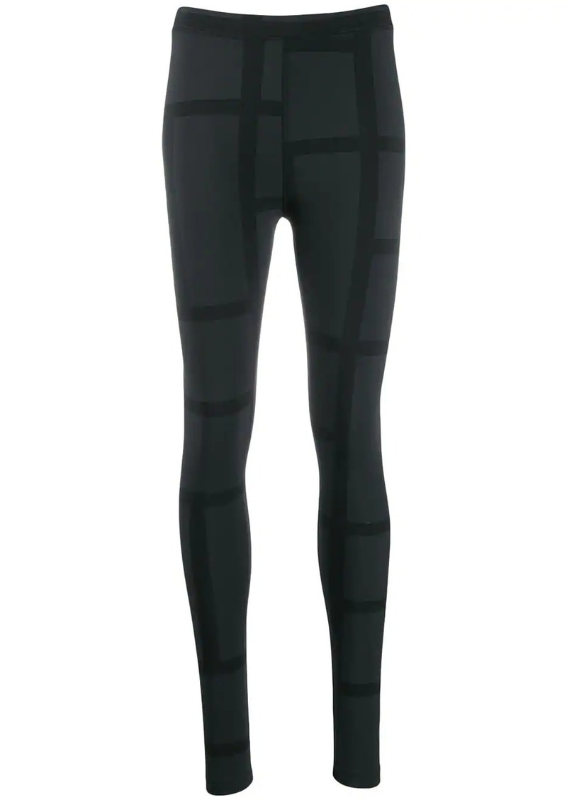 Totême two-tone leggings
