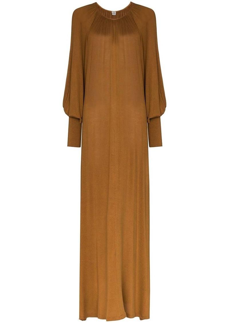 Totême Anville shift maxi dress