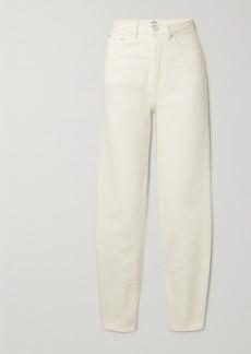 Totême Barrel Organic High-rise Straight-leg Jeans