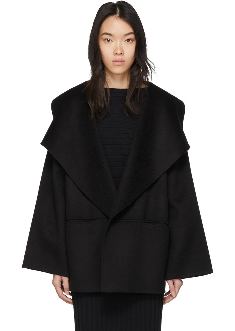 Totême Black Annecy Jacket