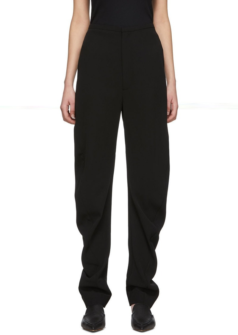 Totême Black Barro Trousers