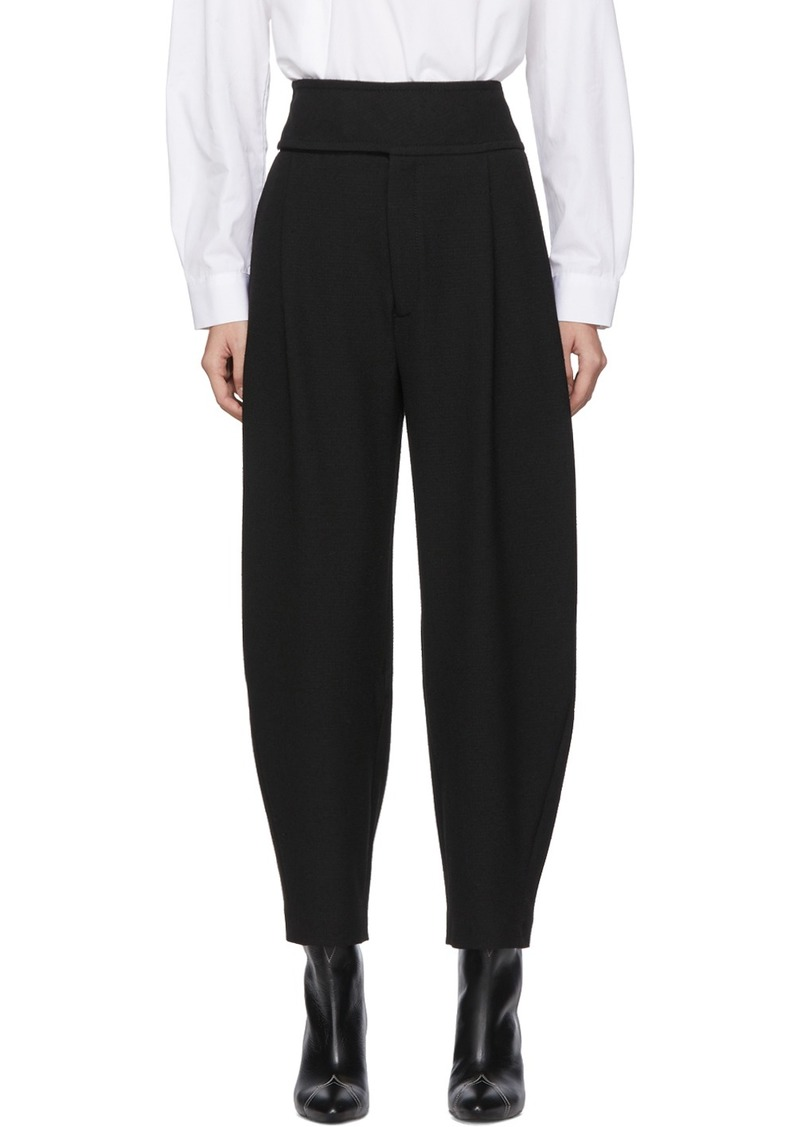 Totême Black Lombardy Trousers