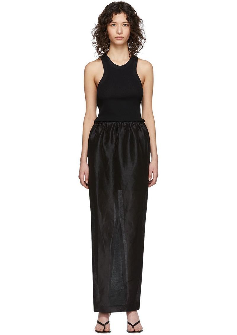 Totême Black Nonza Dress